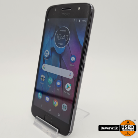 Motorola Moto G5 32Gb Grijs - In Goede Staat