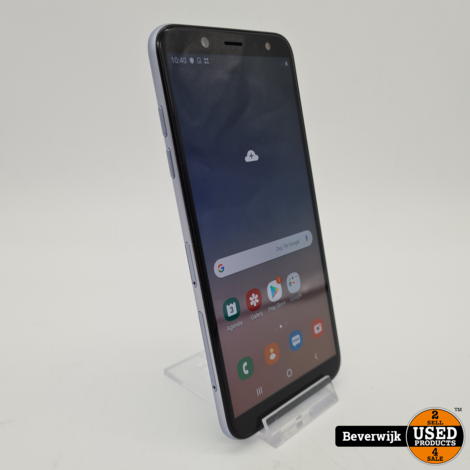 Samsung Galaxy A6 32GB Zilver - In Goede Staat
