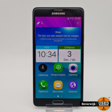 Samsung Samsung Galaxy Note 4 32GB Zwart - In Prima Staat