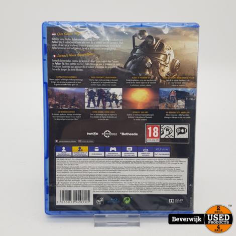 PS4 Game Fallout 76 - Geseald