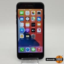 Apple iPhone 7 32GB Zwart Battery 100% - In Goede Staat