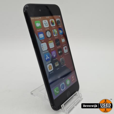 iPhone 7 32GB Zwart Battery 100% - In Goede Staat