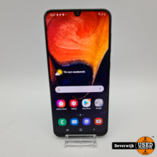 Samsung Samsung Galaxy A50 128GB Zwart - barstje in scherm