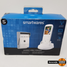 Smartwares VD36W Draadloze video deurintercom - 175 meter - Portable handset