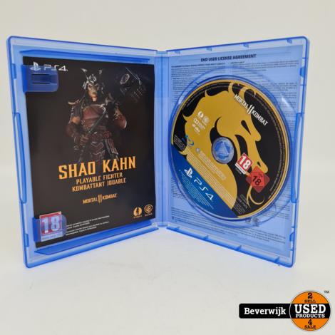 Mortal Kombat 11 - PS4 game