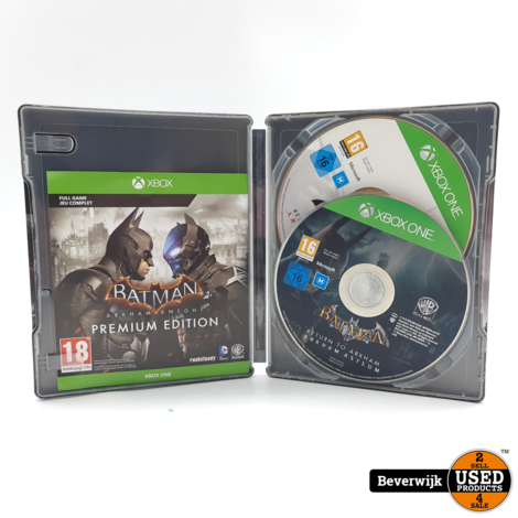 Batman Arkham Collection Steelbook xbox one Game - In Nette Staat