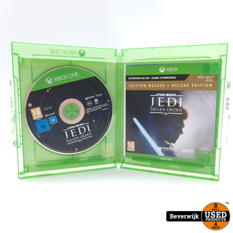 Star Wars Jedi: Fallen Order Deluxe Edition Xbox One Game - In Nette Staat