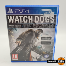 Playstation 4 Watch Dogs PS4 Game - In Nette Staat