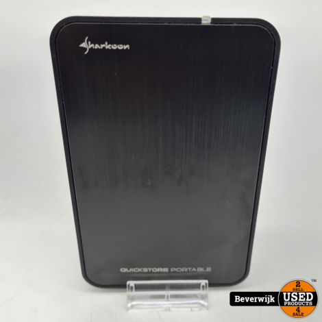 Sharkoon Quickstore Portable USB 2.5 Inch HDD Behuizing