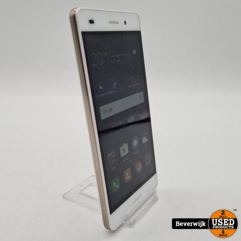Huawei P8 Lite 16 GB Wit - Barst Op De Display - 3 Maanden Garantie