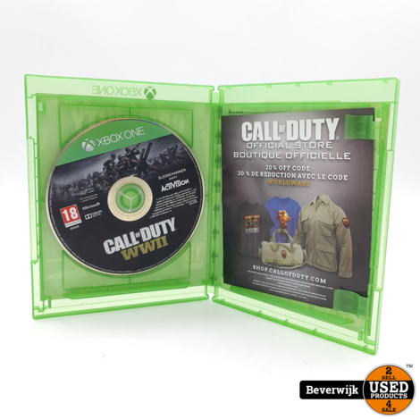 Call Of Duty WWII Xbox One Game - In Nette Staat