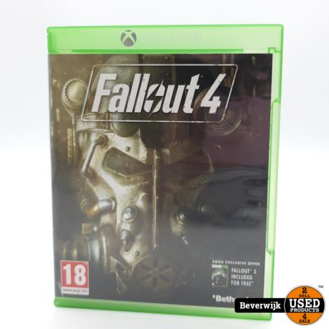 Fallout 4 Xbox One Game - In Nette Staat