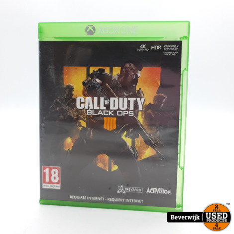 Call Of Duty Black Ops 4 Xbox One Game - In Nette Staat
