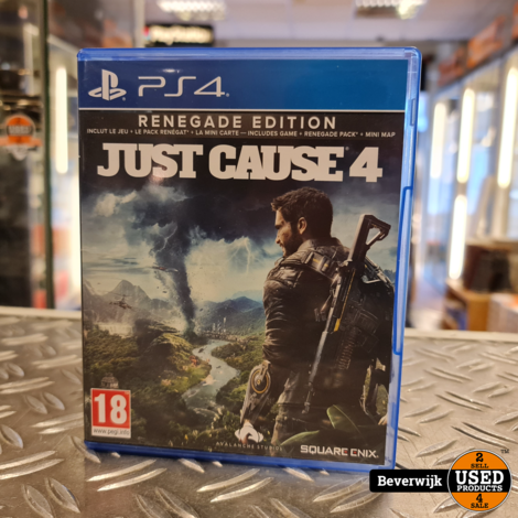 Just Cause 4 PS4 Game - In Nette Staat
