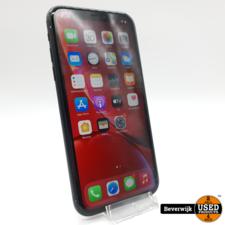 Apple Apple iPhone XR 64GB Zwart Accu 92 - Face ID Defect en Barstje op de Achterkant