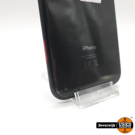 Apple iPhone XR 64GB Zwart Accu 92 - Face ID Defect en Barstje op de Achterkant
