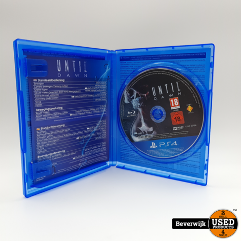 Until Dawn Sony PlayStation 4 Game - In Nette Staat