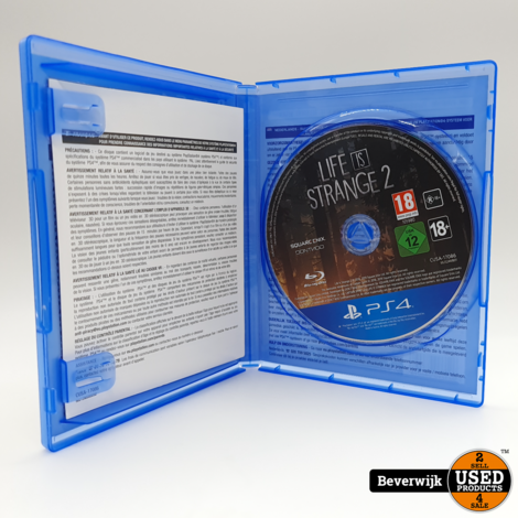 Life is Strange 2 Sony PlayStation 4 Game - In Nette Staat