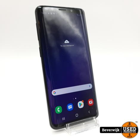 Samsung Galaxy S9 64GB Zwart - In Nette Staat