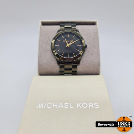 Micheal Kors MK-8715 Unisex Horloge - Zo Goed Als Nieuw!