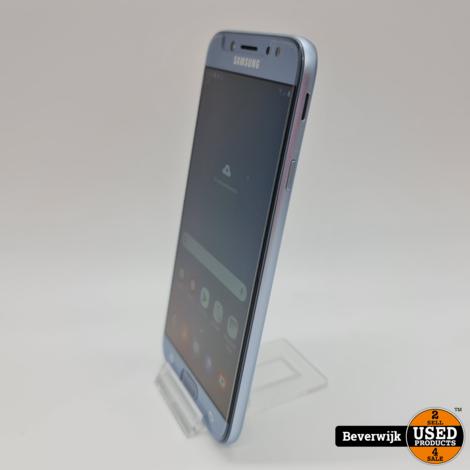 Samsung Galaxy J7 16GB Zilver Duo Sim - In Nette Staat