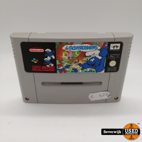 Les Schtroumpfs - Super Nintendo Game