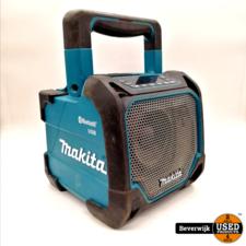 Makita Makita DMR202 Bluetooth Speaker IP64 Met USB Poort in Goede Staat