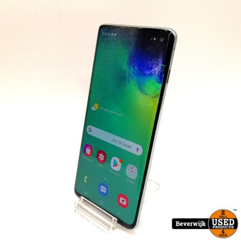 Samsung Galaxy S10 128GB Groen - In Nette Staat