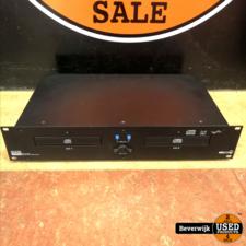 Dap Audio DS-860D Dubbele CD-Speler - Defect
