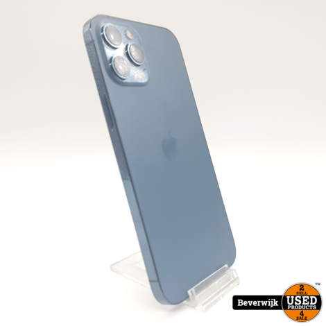 Apple iPhone 12 Pro Max 256GB Blauw - NIEUW