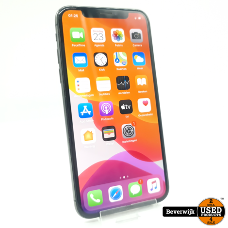 Apple iPhone X 256GB Space Gray - In Nette Staat