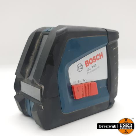 Bosch GLL 2-50 Laser Waterpas - In Nette Staat