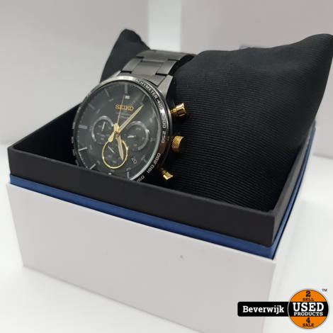 Seiko Horloge 8T63 50th Anniversary Special Edition - In Goede Staat