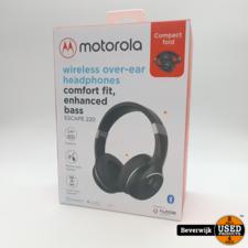 Motorola Motorola Over-Ear Koptelefoon Escape 220 - Bluetooth 5.0 - Opvouwbaar - Wit