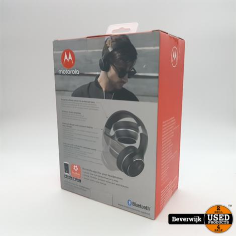 Motorola Over-Ear Koptelefoon Escape 220 - Bluetooth 5.0 - Opvouwbaar - Wit