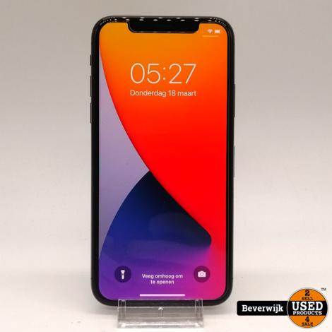Apple iPhone X 64GB Zwart - In Zeer Nette Staat