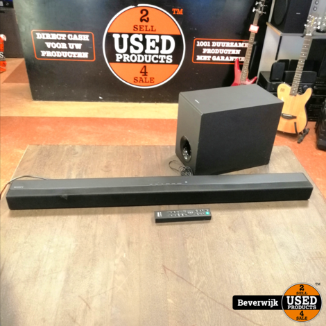 Sony SA CT80 Soundbar met Sub - In Nette Staat