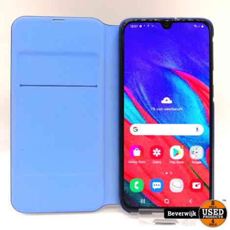 Samsung Galaxy A40 64GB Blauw - In Nette Staat