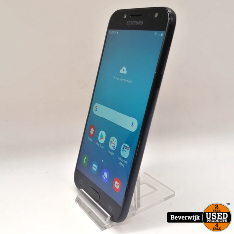 Samsung Galaxy J5 16GB 2017 Zwart In Nette Staat
