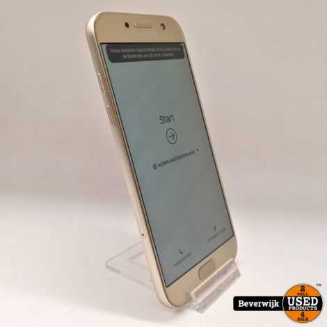 Samsung Galaxy A5 2017 32GB Goud - In Nette Staat