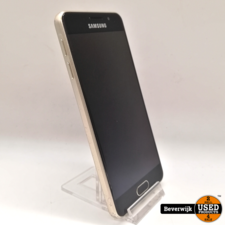 Samsung Samsung Galaxy A3 2016 16 GB Goud in Goede Staat