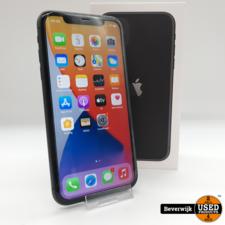 Apple Apple iPhone 11 256GB Zwart Accu 96% - Zo Goed Als Nieuw