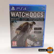 Sony Watch Dogs - PS4 Game