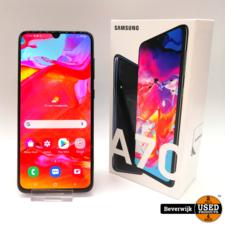 Samsung Samsung Galaxy A70 128GB Zwart - Zo Goed Als Nieuw