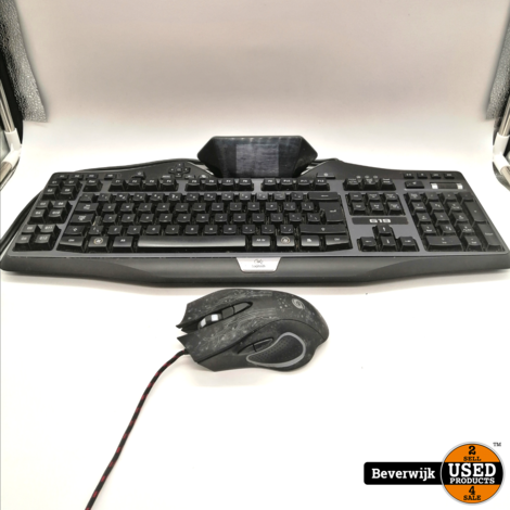 Logitech G19 Gaming Keyboard + Gaming Muis - Zo Goed Als Nieuw!