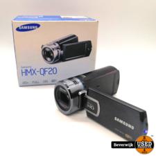Samsung Samsung HMX-QF20 Handycam 20 - Zo Goed Als Nieuw!