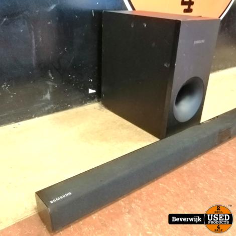 Samsung HW-J355 Soundbar + Subwoofer - Zo Goed Als Nieuw!