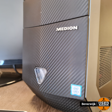 Medion Game PC Set Intel Core i5 GTX 1050 - In Nette Staat