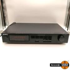 Sony Sony ST-S101 Tuner Zwart - In Goede Staat