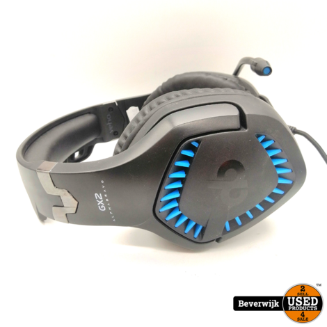 Veho Alpha Bravo GX-2 7.1 Surround Gaming Headset - In Nette Staat